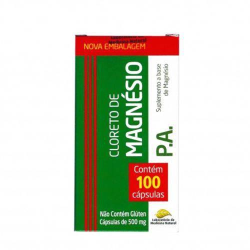 Cloreto de Magnésio P.a 100 Capsulas