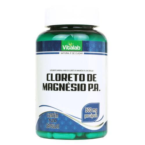 Cloreto de Magnésio P.a. (500mg) 120 Cápsulas - Vitalab