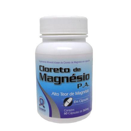 Cloreto de Magnésio P.A Sanibras 60 Cápsulas
