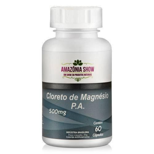 Cloreto de Magnésio PA 60 Capsulas de 500 Mg