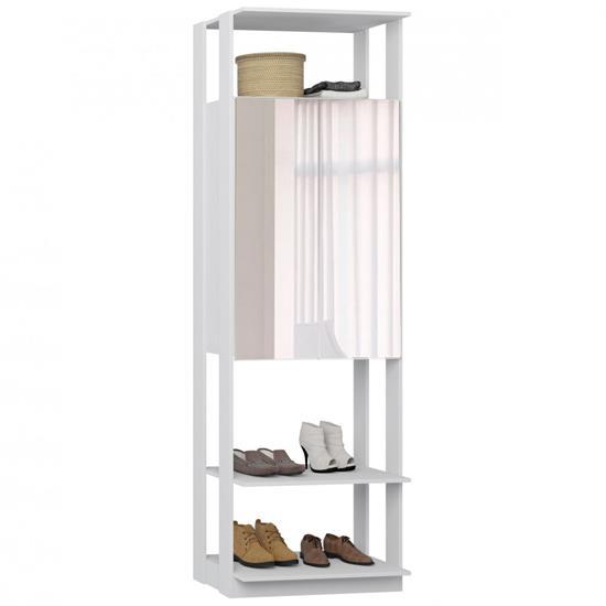Closet Armário 2 Portas com Espelho 1007 - Be Mobiliário