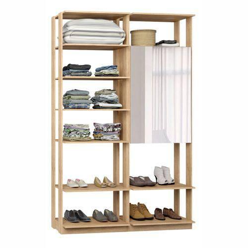 Closet Componível Completo 2 Peças 1,40m 9012 Clothes Be Mobiliário