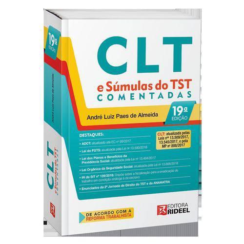 CLT e Súmulas do TST Comentadas - ED 19