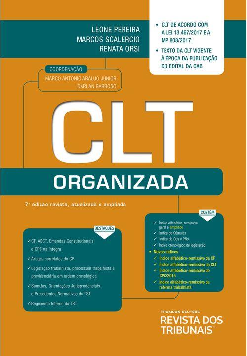 CLT Organizada - 7ª Edição