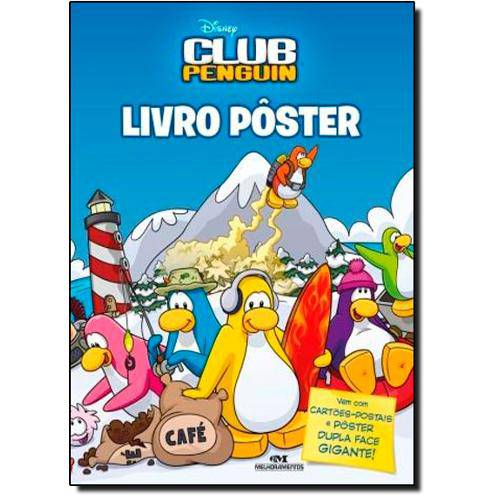 Club Penguin - Livro Poster