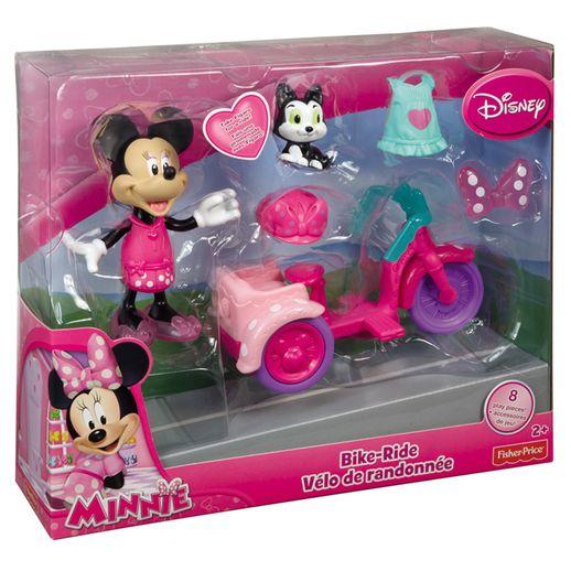 Clubhouse Minnie no Passeio de Bicicleta - Mattel
