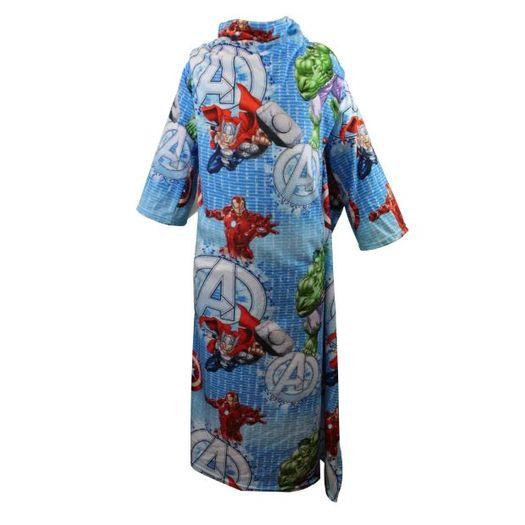 Cobertor C/Mangas Avengers 160x130cm 10070584 Z-Criativa