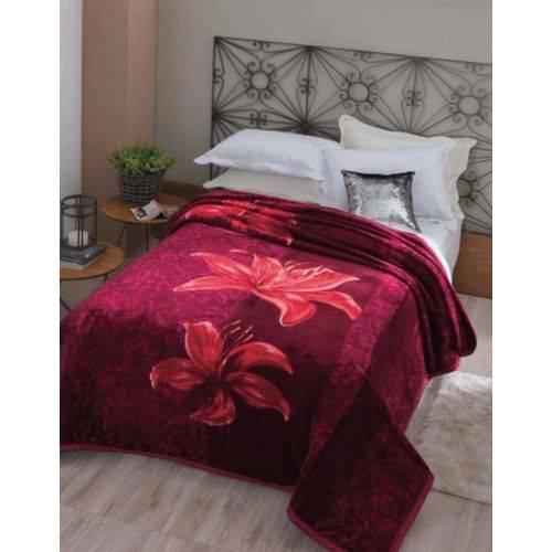 Cobertor Casal Dyuri com Cinta Angresse 1,80 X 2,20 Jolitex