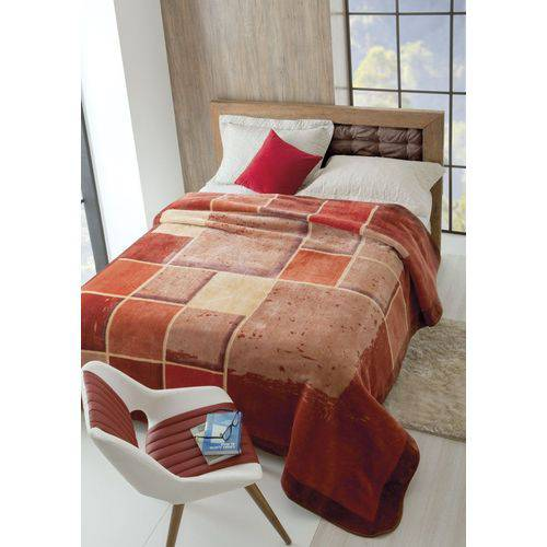 Cobertor Casal Raschel Iluminato 1,80x2,20