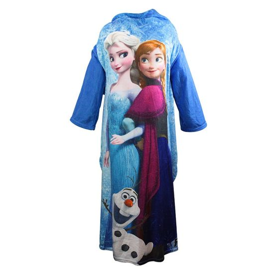 Cobertor com Mangas Frozen Disney 1,60 X 1,30 M