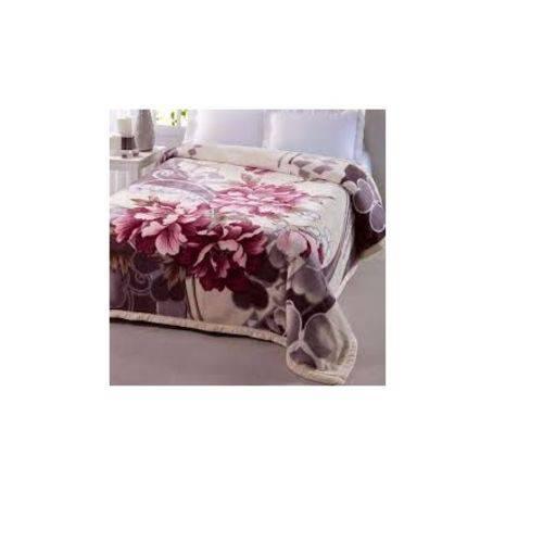 Cobertor Dupla Face Joalitex Ternille não Alérgico 2,20 X 2,40m Crisântemo