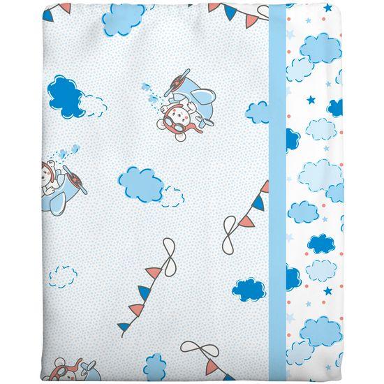 Cobertor Estampado - Azul 1