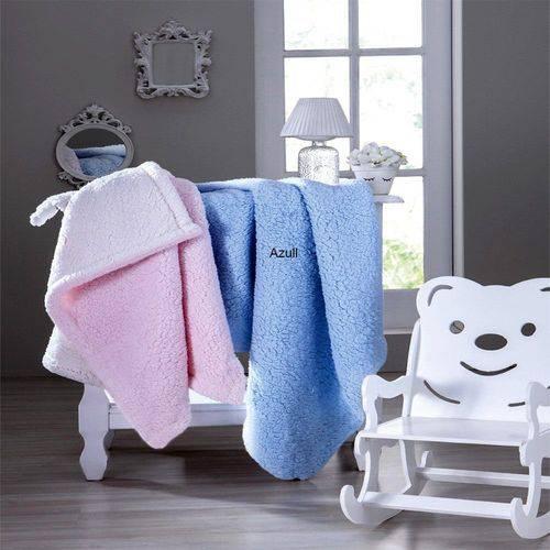 Cobertor Infantil Carneirinho Azul - Jolitex