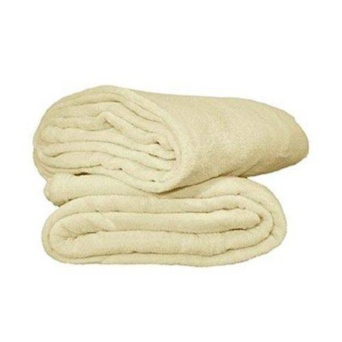 Manta Cobertor Bebe Microfibra 90 X 110 Cm Pérola
