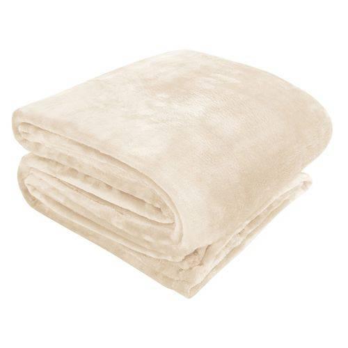 Cobertor Manta Microfibra 110 X 150 Cm Pérola