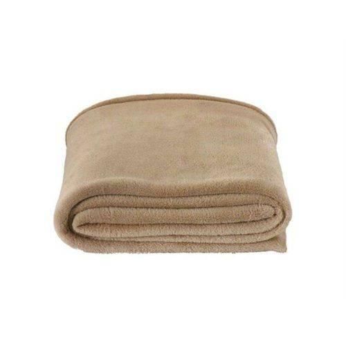 Cobertor Manta Microfibra Casal Camurça 180 X 220 Cm