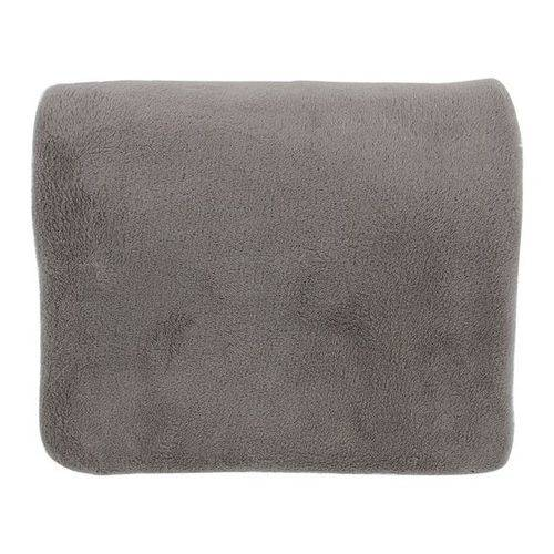 Cobertor Manta Microfibra Casal Preto 180 X 220 Cm