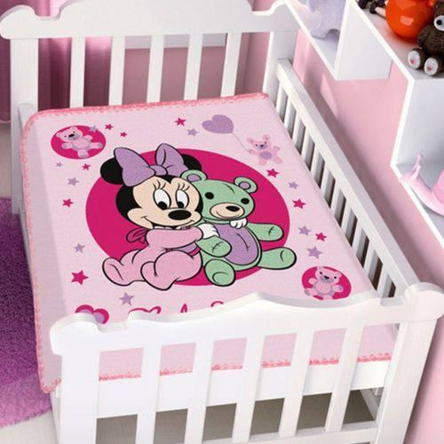 Cobertor Menina Disney Minnie Ursinho Jolitex