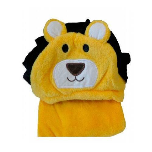Cobertor Microfibra Bebe Manta Soft Bebe Bichinhos Jolitex Leão