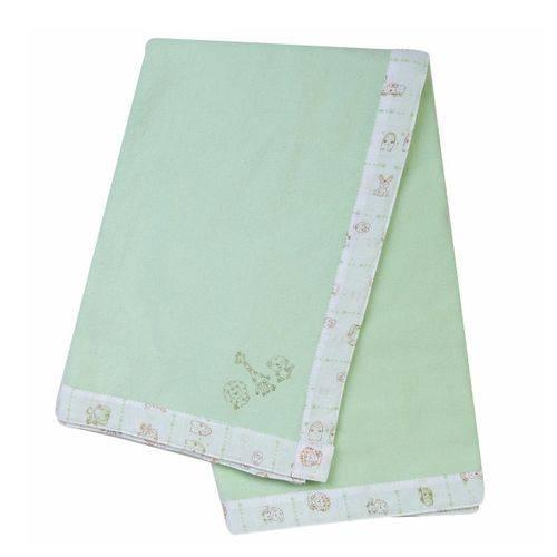 Cobertor Papi Baby Bordado 100% Algodão 110cm X 90cm Bichinhos