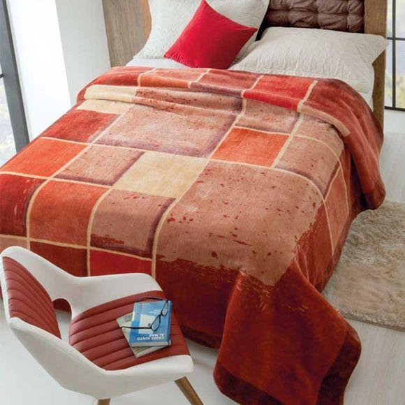 Cobertor Raschel Estampado 1.80 X 2.20m Iluminato Jolitex