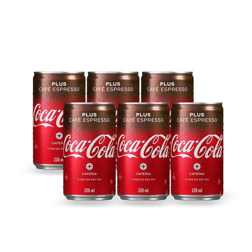 Coca-Cola Café 220ML (Pack 6 Unidades)