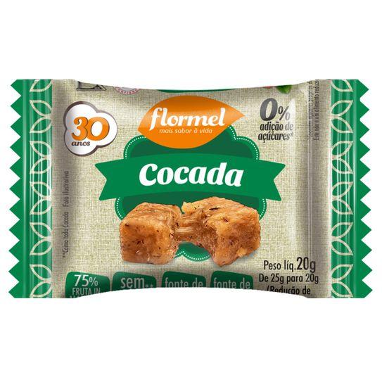 Cocada Zero Açucar Flormel 25g
