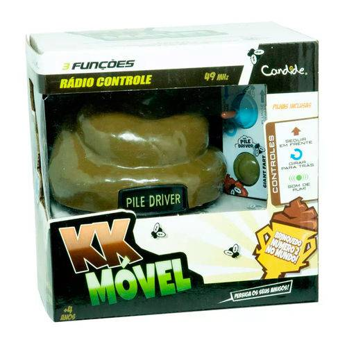 Coco Movel Rc - 3 Funcoes