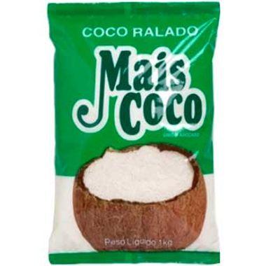 Coco Ralado Adoçado Mais Coco 1kg