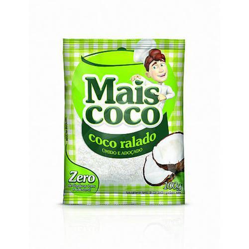 Coco Ralado Seco Mais Coco 100g - Sococo