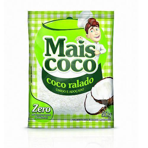 Coco Ralado Seco Mais Coco 50g - Sococo