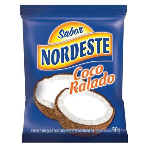 Coco Ralado Úmido e Adoçado 50g - Sabor Nordeste