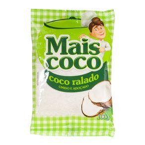 Coco Ralado Úmido e Adoçado Mais Coco 100g