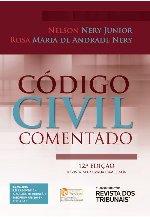 Código Civil Comentado 12ª Edição