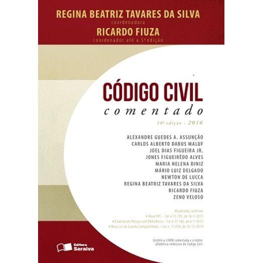 Codigo Civil Comentado - Fiuza - Saraiva