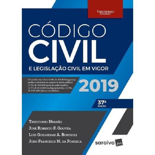 Codigo Civil e Legislacao Civil em Vigor - Saraiva