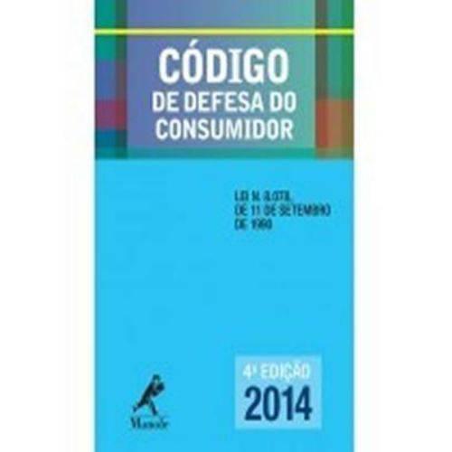 Codigo de Defesa do Consumidor - 04 Ed