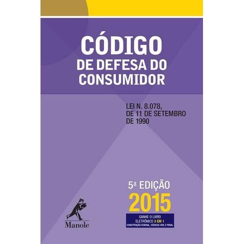Codigo de Defesa do Consumidor - 5 Ed