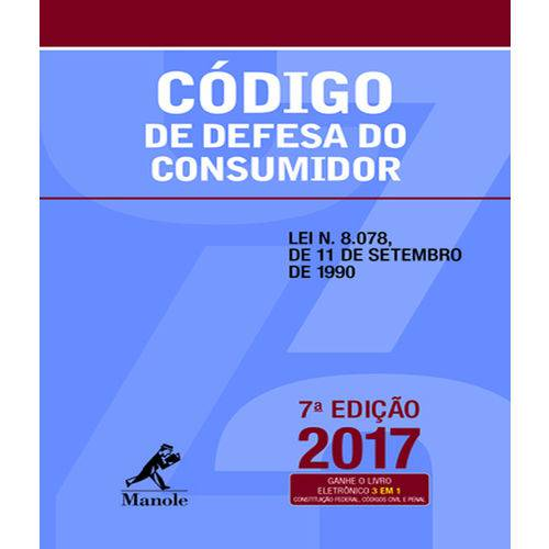 Codigo de Defesa do Consumidor - 7 Ed