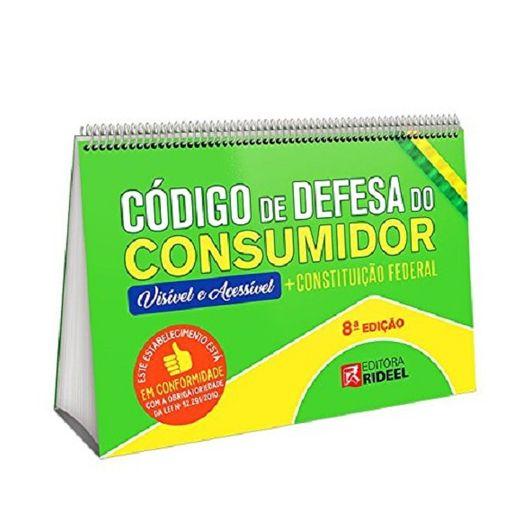 Codigo de Defesa do Consumidor - Constituicao Federal - Rideel - 8 Ed