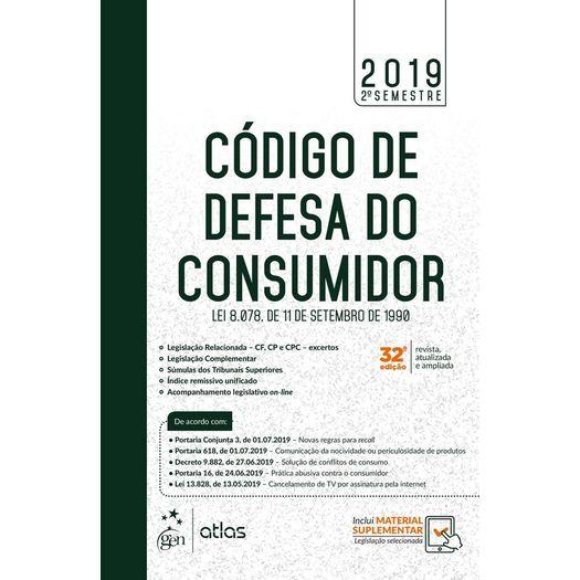 Codigo de Defesa do Consumidor - Manuais - 2 Semestre 2019 - Atlas