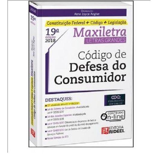 Codigo de Defesa do Consumidor - Maxiletra - Rideel