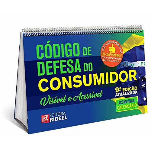 Código de Defesa do Consumidor - Visível e Acessível - 9ª Edição (2019)