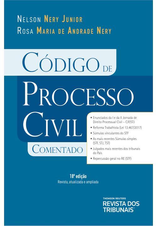 Código de Processo Civil Comentado 18º Edição