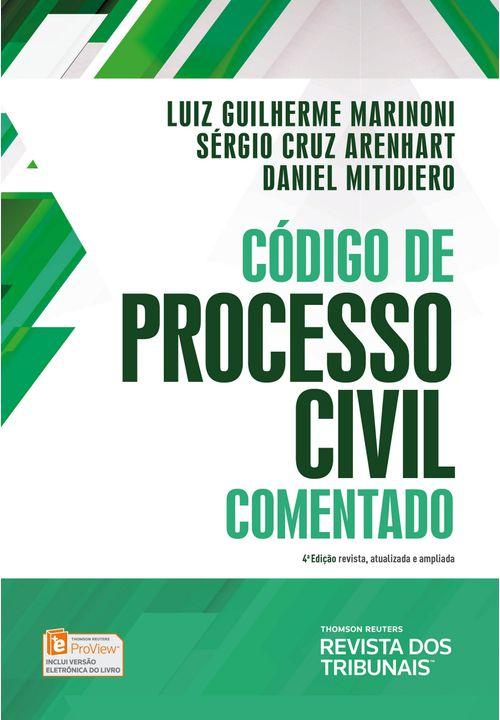 Código de Processo Civil Comentado - 4ª Edição
