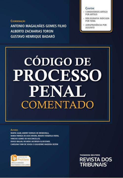 Código de Processo Penal Comentado - 1ª Edição