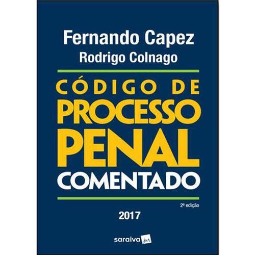 Código de Processo Penal Comentado