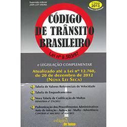 Código de Trânsito Brasileiro: Lei Nº 9.503/97 - Edição de Bolso