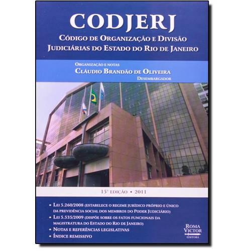 Codjerj: Código de Organização e Divisão Judiciárias do Rio de Janeiro