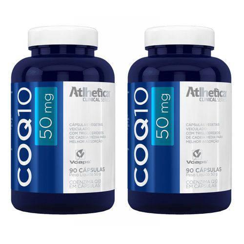 Coenzima Q10 50mg - 2 Un de 90 Cápsulas - Atlhetica